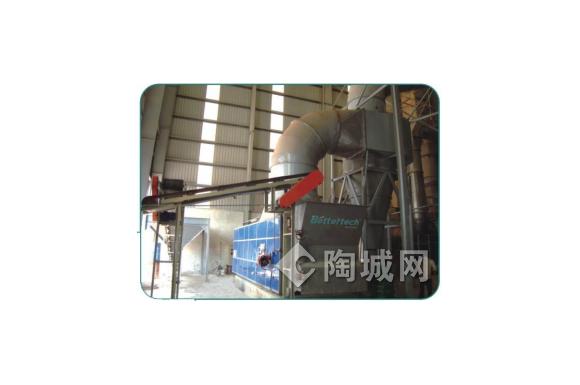 链排式煤烧热风炉的操作规程